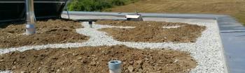 Erstes Biosolar Gründach in Sion – Im Rahmen des Projekts Acclimatasion